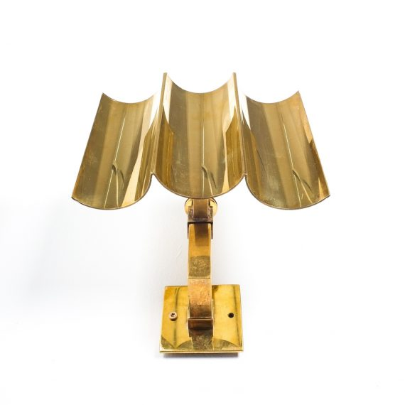 wave brass sconces 6 Kopie