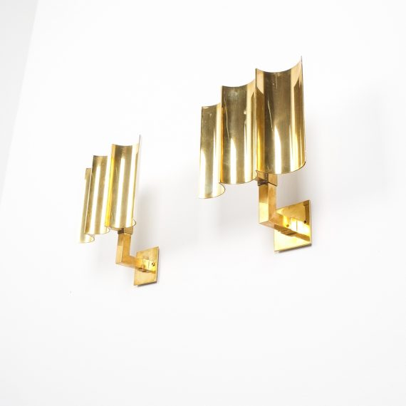 wave brass sconces 8 Kopie