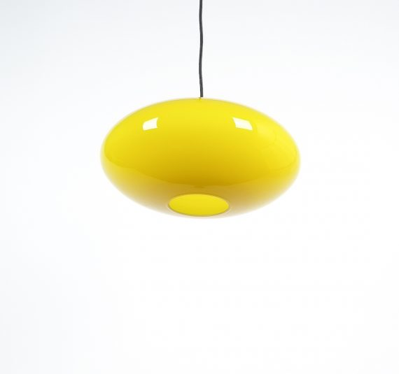 yellow stilnovo pendant lamp_03
